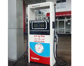 LCD for fuel dispenser YouTube